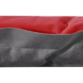 CAMPZ Dream Comfort Esterilla 5.0, rojo/gris